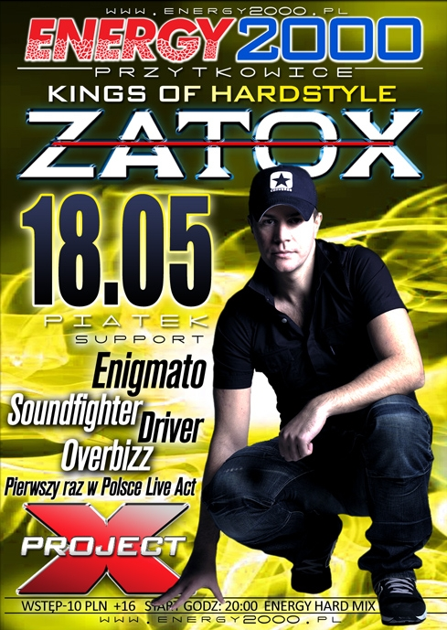 Energy2000 - Kings Of Hardstyle pres. ZATOX 18.05.2012