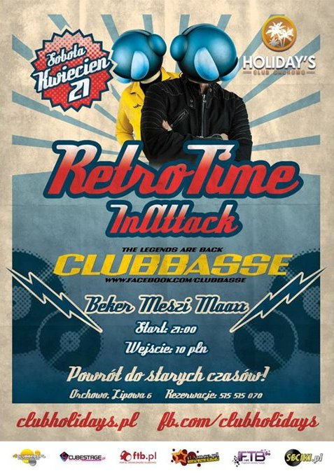 Klub Retro Time In Attack  / Klub Holidays - Najnowsze Sety