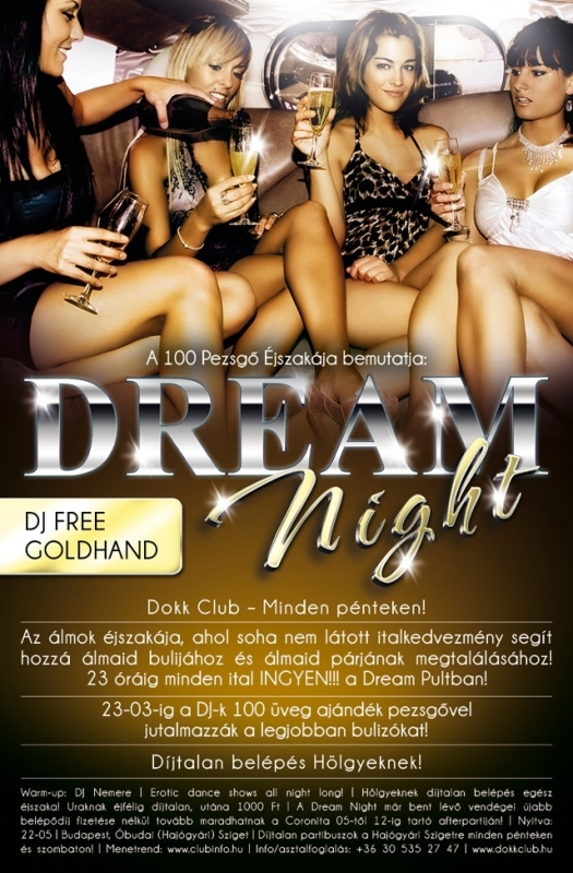 Nemere & Dj Free & Goldhand - Live @ Dokk Club Budapest Dream Night 20.04.2012