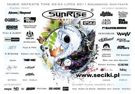 Sunrise Festival 2011 (Kołobrzeg)