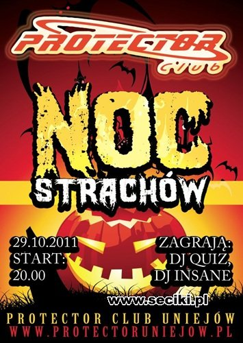 Dj Insane & Dj Quiz @ Protector Uniejów - Halloween Party (29.10.2011)
