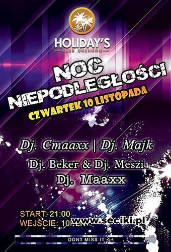 Meszi Live @ Noc Niepodległości - Holidays Club, Orchowo (10.11.11)