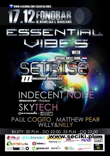 Fonobar - Indecent Noise @ Essential Vibes (17-12-2011)