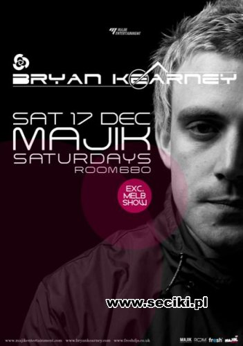 Bryan Kearney - Live @ Majik 17.12.2011 (Melbourne, Australia)
