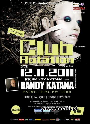 Ekwador - Manieczki - Club Rotation (12.11.2011)