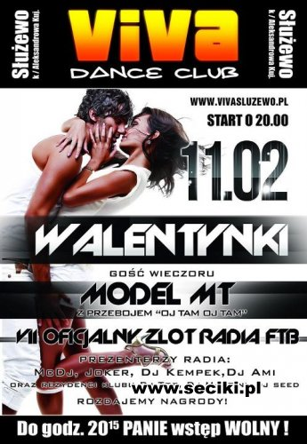 Viva Dance Club - DJ Top - Zlot RadiaFTB - 11.02.2012 (sala dance)