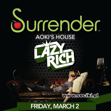 Lazy Rich - Surrender Nightclub Las Vegas, USA (02.03.2012)