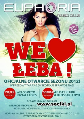 Euphoria Music Club - We Love Łeba (29.06.12)