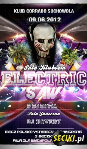 Klub Corrado (Suchowola) - Mr. Electric Saw (09.06.12)