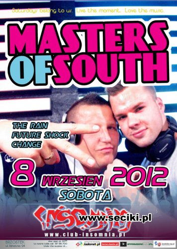 Club Insomnia - Masters Of South (08.09.2012)