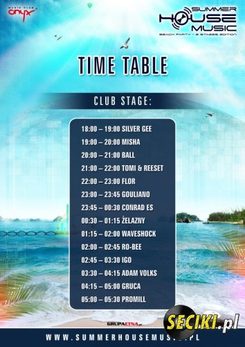Summer house Music 2012 - Waveshock Club Stage 25.08.2012