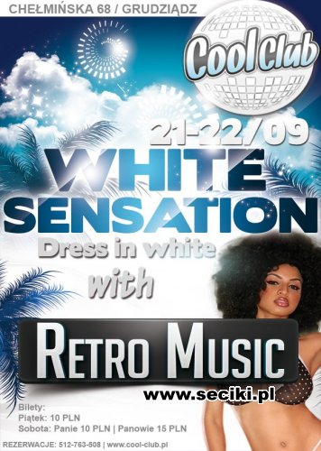 Cool Club WHITE SENSATION Retro Music