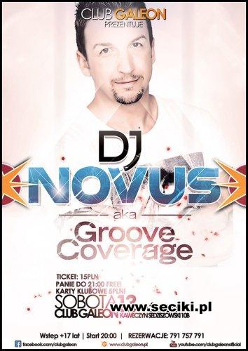 Club Galeon - Dj Novus -Groove Coverage (13.10.2012)