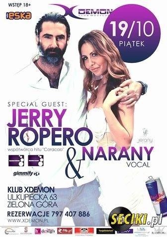 Jerry Ropero & Narany  X-Demon Zielona Góra 19.10.2012