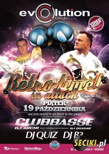 Club Evolution Sieradz - Retro Time in Attack - 19.10.2012