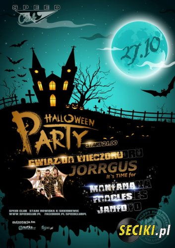 Speed Club (Stare Rowiska) - Hallowen Party (27.10.2012)