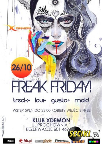 X-Demon Leszno - Treck @ Vibes of Ibiza 26.10.12