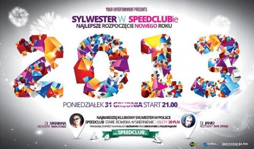 Speed Club (Stare Rowiska) - Sylwester Z D-Bomb (31.12)