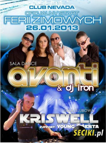 Club Nevada (Nur) - Kriswell & Young Liberta (26.01.13)