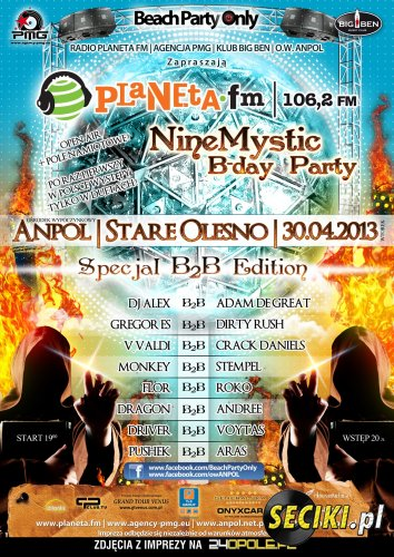 ANPOL Beach Party Only (30.04.2013)