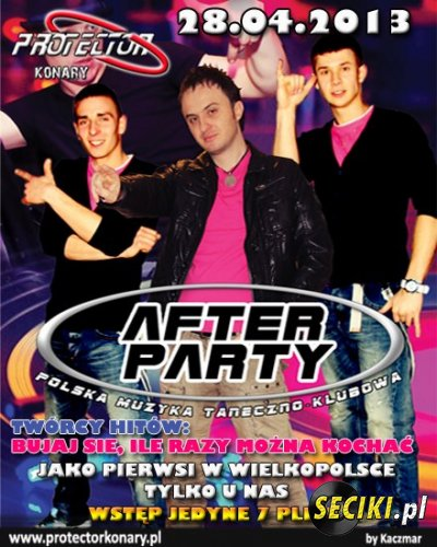 Protector (Konary) - Afterparty (28.04.2013)