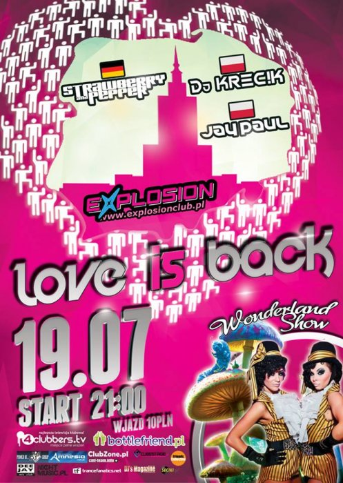 Explosion Club (Warszawa) - Love Is Back! (19.07.2013)