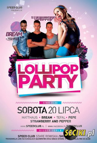 Speed Club Rowiska - Lollipop Party (Red Stage)(20.07.13)