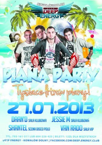 Deep Energy - Piana Party (27.07.13)