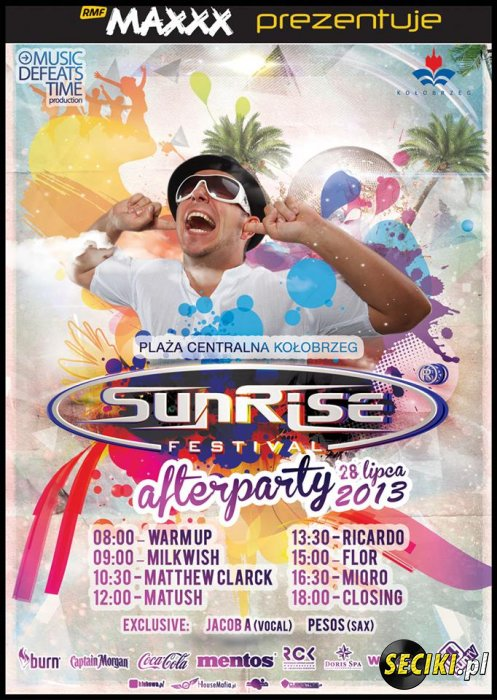 Sunrise Festival - Miqro @ Afterparty (28.07.2013)