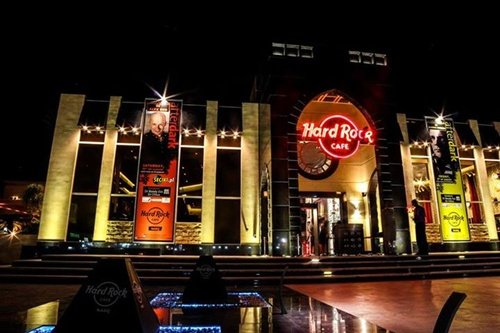 Hard Rock Cafe Nabq Bay ( Egypt) - Alex Red (12.08.2013)
