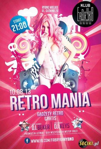 Klub Fabryka (Rybno Wielkie) - Retro Mania (10.08.13)