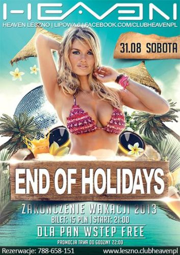 Heaven (Leszno) - DJ WAJS In The Mix (31.08.2013)