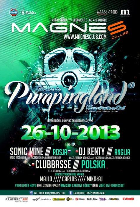 Klub Pumpingland   / Magnes Club Wtórek