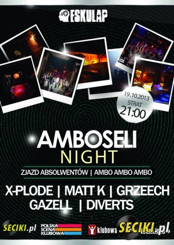 Matt.K @ Amboseli Night @ Eskulap 19.10.2013