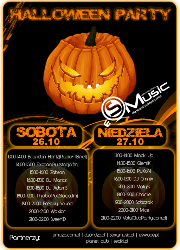 eSMusic - Halloween Party 26/27.10.13