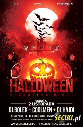 Speed Club - Halloween Speed Club Night (02.11.2013)