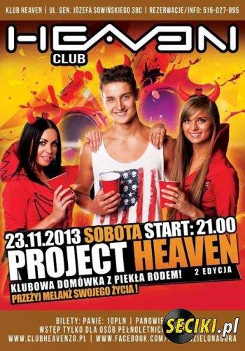 Heaven (Zielona Góra) - DJ X-Meen (23.11.2013)