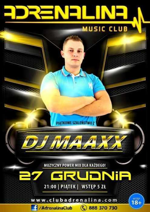 Adrenalina Club (Żnin) - Dj Maaxx @ Video Mix (27.12.2013)