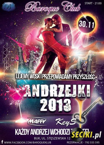 Club Baroque - Andrzejki @ Dj KeyS (30.11.13)