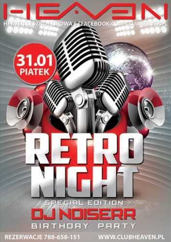 Heaven Leszno - Retro Night (31.01.2014)