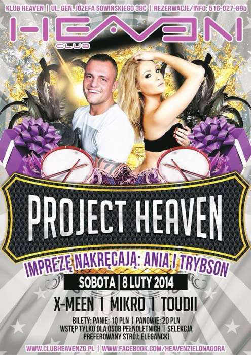Klub Heaven Zielona Góra  / Sety 2014