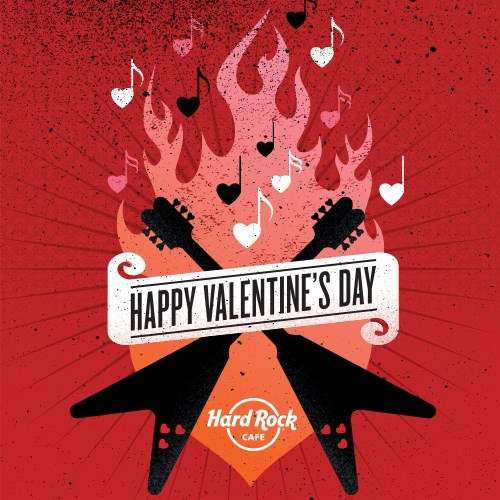 Hard Rock Cafe Nabq - Alex Red @ Valentines Day (14.02.2014)