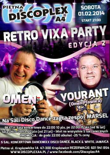 Discoplex A4 (Pietna) - Retro Vixa Party II (01.02.14)
