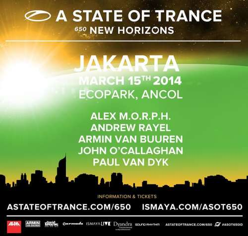 A State of Trance 650 Jakarta, Indonesia (15.03.2014)