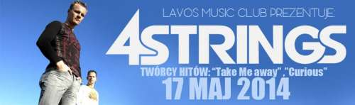 Lavos Music Club (Wrocław) - 4 Strings & Waveshock (17.05.14)