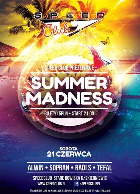 Speed Club - Summer Madness [Rain Stage] 21.06.2014