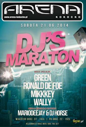 Klub Arena (Kokocko) - DJ Wally (21.06.2014)
