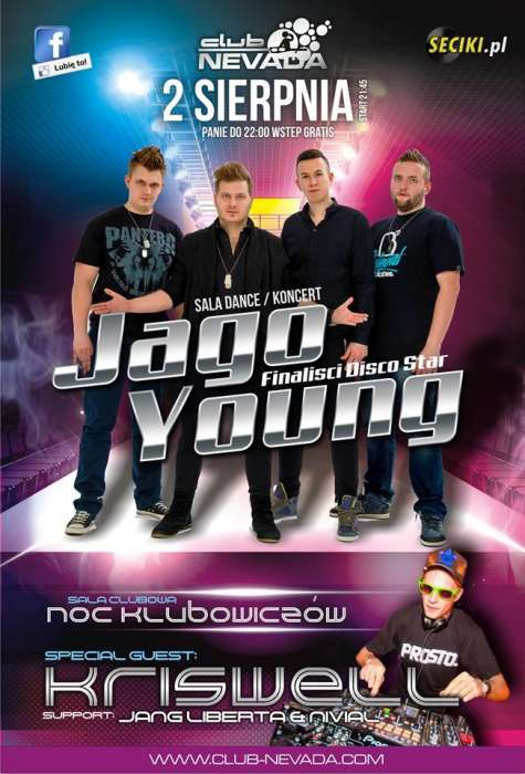 Klub NEvada (Nur) - Jago Young | Kriswell (02.08.2014)
