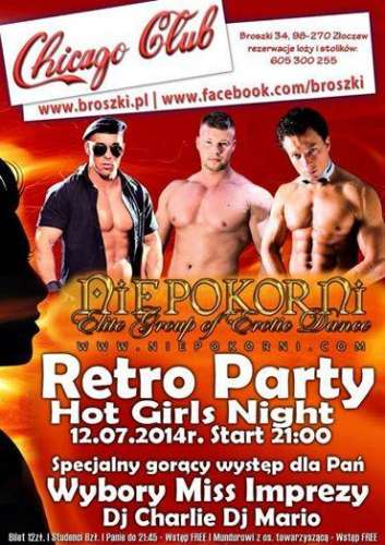 Chicago Club (Broszki) - Retro Party (12.07.2014)