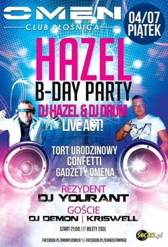 Omen (P�o�nica) - DJ Hazel B-Day Party (04.07.2014)